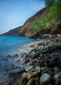 Playful Tide at Kealakekua Bay Big Island Hawaii