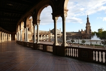 Plaza de Espaa Seville Spain designed by Anbal Gonzlez