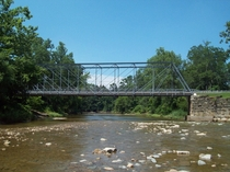 Pleasant Valley Road Bridge over the Chagrin River Willoughby Hills OH