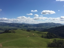 Pleasanton Ridge overlooking Niles Canyon