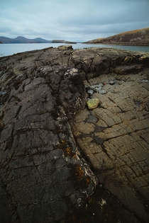 Please help Im addicted to finding and photographing weird rocks Oronsay Isle of Skye Scotland
