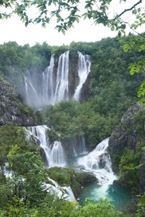 Plitvice Lakes Croatia after some heavy rain