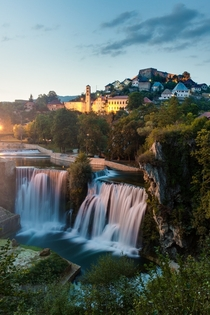 Pliva waterfall in Jajce Bosnia-Herzegovina