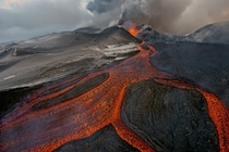 Plosky Tolbachik volcano of Kamchatka Russia Nov   photo Sergey Gorshkov