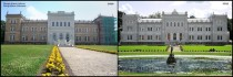 Plung Manor Lithuania before and after restoration works