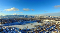 Pocatello Idaho after a nice snow storm OC