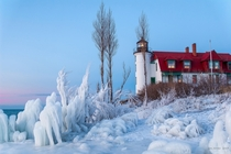Point Betsie lighthouse MI  by Jim Sorbie