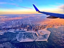 Polar Vortex in Chicago    by pilot Hank Cain