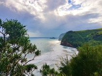 Pololu Lookout Big Island Hawaii xOC