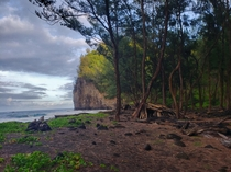 Pololu Valley HI this past Monday before sunset