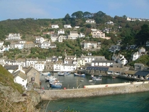 Polperro Cornwall United Kingdom