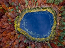 Pomerania Poland in the fall
