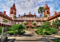 Ponce de Leon Hotel now part of Flagler College St Augustine Florida - Carrere and Hastings