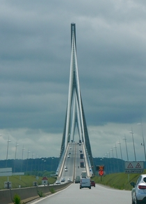 Pont de Normandie Le Havre France