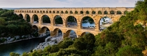 Pont du Gard  a  years old Roman aqueduct in Southern France