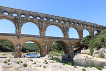 Pont du Gard courtesy of the Roman Empire France