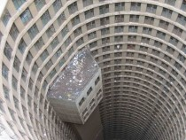 Ponte City Apartments in South Africa