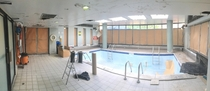 Pool I used to swim in as a child in an apartment building