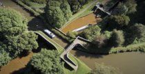 Pool Lock Aqueduct on the Macclesfield Canal UK Credit Cruising The Cut
