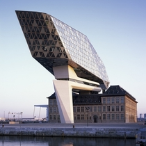 Port House by Zaha Hadid Architects Antwerp Belgium