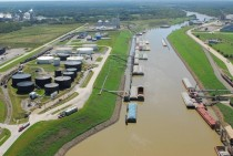 Port of Catoosa Oklahoma- one of the largest most inland ports in the United States