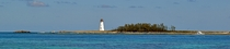 Port of Nassau Lighthouse on Paradise Island Bahamas xpost rSeaPorn