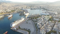Port of Piraeus the chief port in Greece and the largest passenger port in Europe
