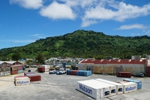 Port of Weno Island Micronesia One of the last stops in the global supply chain Link to album in comments