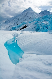 Portage Glacier Pool Alaska by mikewheels