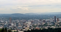Portland as seen from Pittock Mansion