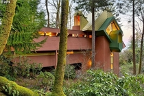 Portland home by organic architect Robert Harvey Oshatz
