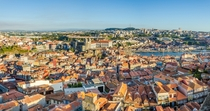 Porto Portugal - View from the Torre dos Clrigos