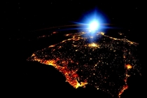 Portugal and Spain all aglow after dark From astronaut Scott Kelly