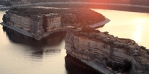 Possum Kingdom Lake where they will be holding the Redbull Cliff Diving championships June -