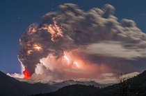Postcard from hell - Eruption of Cordn Caulle in the Chilean Andes  photo by Francisco Negroni