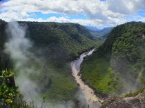 Potaro River Guyana Downstream from Kaiteur Falls