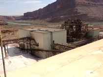 Potash Mine near Moab UT