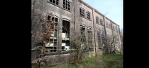 Potato starch factory in Ter Apel Netherlands Abandoned since the s