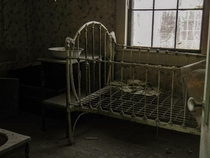 Potentially haunted nursery I found in an abandoned ghost town