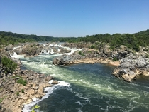 Potomac River as seen from Great Falls Park Virginia
