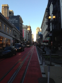 Powell Street in San Francisco