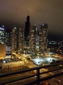 Power outage at the Sears Tower in Chicago Illinois
