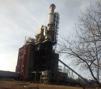 Powerplant thats been abandoned for at least  years- Williamsport Maryland