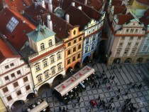 Prague from the Astronomical Clocktower