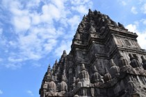 Prambanan Hindu temple in Central Java Indonesia