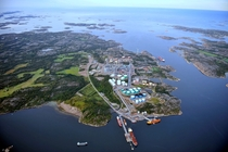 Preemraff in Lysekil Sweden It is Scandinavias largest oil refinery with the capacity to refine  million tonnes of crude oil per year