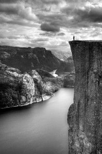 Preikestolen Preachers Pulpit Norway