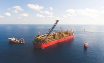Prelude FLNG is the worlds largest floating liquefied natural gas platform as well as the largest offshore facility ever constructed