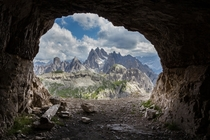 Primitive room with a fantastic view Dolomites Italy   Michele Alfieri