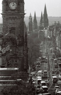 Princes Street Edinburgh Scotland  OC